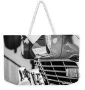 1957 Ford Fairlane Grille -205bw Weekender Tote Bag