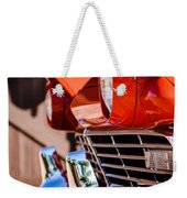 1957 Ford Fairlane Grille -205c Weekender Tote Bag