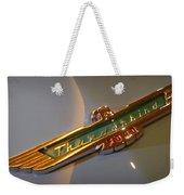 1957 Ford Thunderbird Emblem Weekender Tote Bag