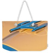 1957 Oldsmobile Hood Ornament 6 Weekender Tote Bag
