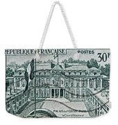 1957 Palais Del Elysee Paris Stamp Weekender Tote Bag