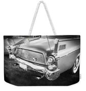 1957 Studebaker Golden Hawk Bw    Weekender Tote Bag