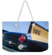 1957 Studebaker Golden Hawk Supercharged Sports Coupe Taillight Emblem Weekender Tote Bag