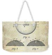 1958 Bowling Patent Drawing Weekender Tote Bag