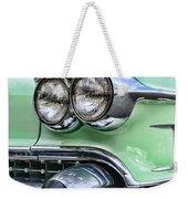 1958 Cadillac Headlights Weekender Tote Bag