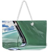 1958 Cadillac It's All In The Fin. Weekender Tote Bag