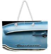 1958 Chevrolet Brookwood Station Wagon Weekender Tote Bag