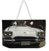 1958 Chevrolet Corvette Weekender Tote Bag