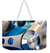 1958 Chevrolet Corvette Steering Wheel Weekender Tote Bag by Jill Reger