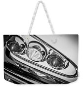 1958 Chevrolet Impala Taillight -0289bw Weekender Tote Bag