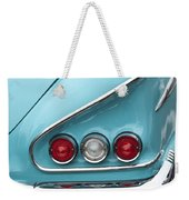 1958 Chevrolet Impala Taillights  Weekender Tote Bag