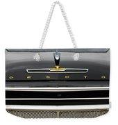 1958 Desoto Firesweep Convertible Hood Ornament Weekender Tote Bag