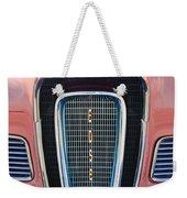 1958 Edsel Pacer Grille Emblem Weekender Tote Bag