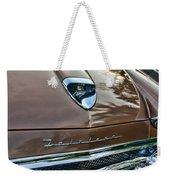 1958 Ford Fairlane 500 Skyliner Weekender Tote Bag
