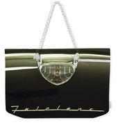 1958 Ford Fairlane 500 Victoria Hood Ornament Weekender Tote Bag