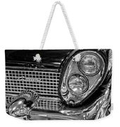 1958 Lincoln Continental Headlight Weekender Tote Bag