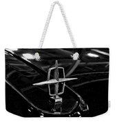 1958 Lincoln Continental Hood Ornament Weekender Tote Bag