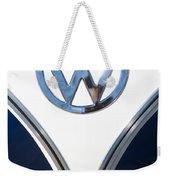 1958 Volkswagen Vw Bus Emblem Weekender Tote Bag