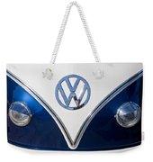 1958 Volkswagen Vw Bus Hood Emblem Weekender Tote Bag