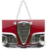 1959 Alfa Romeo Giulietta Sprint Grille Weekender Tote Bag