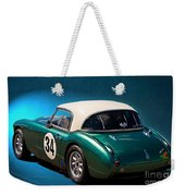 1959 Austin Healey 3000 Mk1 Weekender Tote Bag