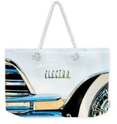 1959 Buick Electra Emblem Weekender Tote Bag
