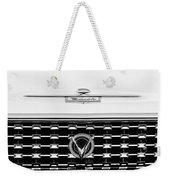 1959 Buick Lesabre Convertible Grille Emblems Weekender Tote Bag