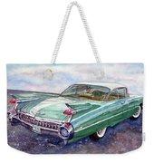 1959 Cadillac Cruising Weekender Tote Bag