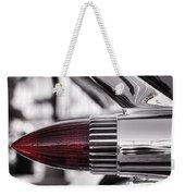 1959 Cadillac Eldorado Tailight Weekender Tote Bag