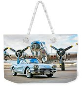 1959 Chevrolet Corvette Weekender Tote Bag