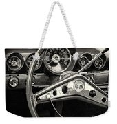 1959 Chevrolet Dash Weekender Tote Bag