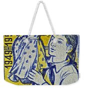 1959 Czechoslovakia Stamp Weekender Tote Bag