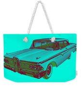 1959 Edsel Ford Ranger Modern Popart Weekender Tote Bag