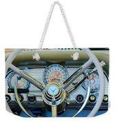 1959 Ford Thunderbird Convertible Steering Wheel Weekender Tote Bag