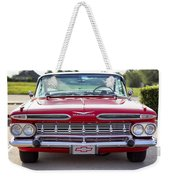1959 Impala Hardtop Sport Coupe Weekender Tote Bag