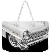 1959 Lincoln Continental Chrome Weekender Tote Bag