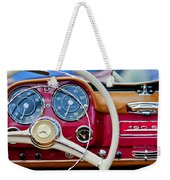 1959 Mercedes-benz 190 Sl Steering Wheel Weekender Tote Bag