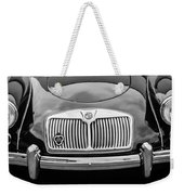 1959 Mg A 1600 Roadster Front End -0055bw Weekender Tote Bag