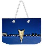 1959 Pontiac Bonneville Emblem Weekender Tote Bag by Jill Reger