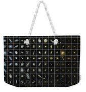 196 Galaxies Weekender Tote Bag by Science Source