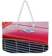 1960 Aston Martin Db4 Grille Emblem Weekender Tote Bag