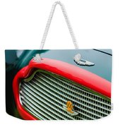 1960 Aston Martin Db4 Gt Coupe' Grille Emblem Weekender Tote Bag by Jill Reger