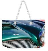 1960 Aston Martin Db4 Series II Grille - Hood Emblem Weekender Tote Bag by Jill Reger