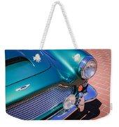 1960 Aston Martin Db4 Series II Grille Weekender Tote Bag