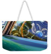 1960 Aston Martin Db4 Series II Steering Wheel Weekender Tote Bag