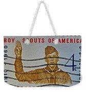 1960 Boy Scouts Stamp Weekender Tote Bag