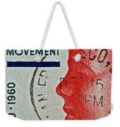 1960 Boys' Clubs Of America Movement Stamp Weekender Tote Bag