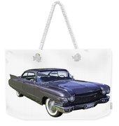 1960 Cadillac - Classic Luxury Car Weekender Tote Bag