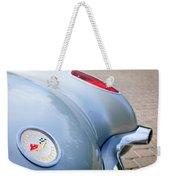 1960 Chevrolet Corvette Emblem - Taillight Weekender Tote Bag
