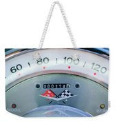 1960 Chevrolet Corvette Speedometer Weekender Tote Bag by Jill Reger